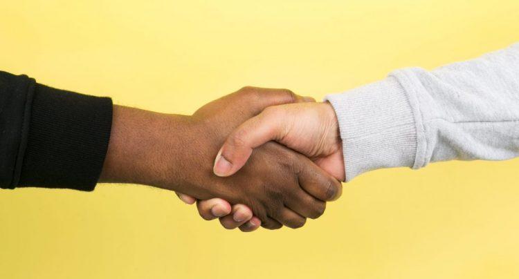 Lichaamstaal sollicitatiegesprek - slappe handdruk