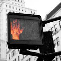 afwijzing sollicitatie rood verkeerslicht stop