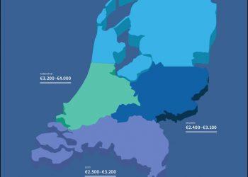 Salariswijzer: ICT-salaris per regio, specialisme en ervaringsniveau [infographic]