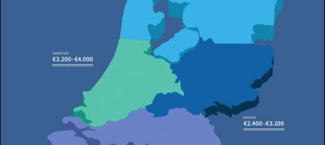 Salaris per regio